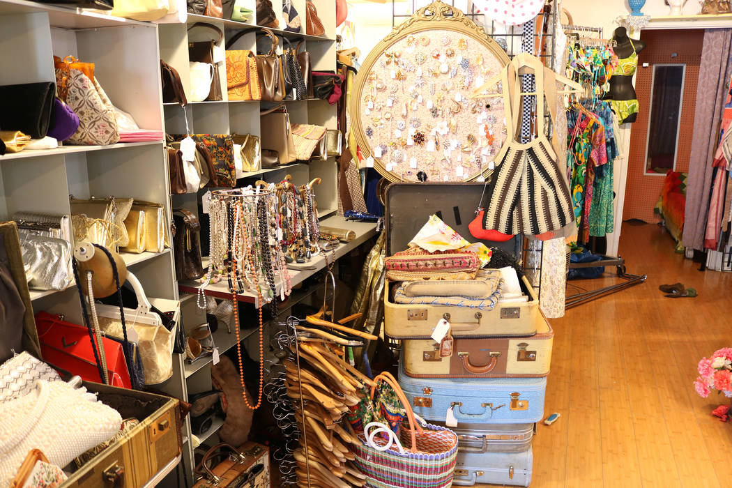 Glam Factory Vintage is stocked with vintage jewelry, accessories and handbags. Janna Karel Las Vegas Vegas Review-Journal