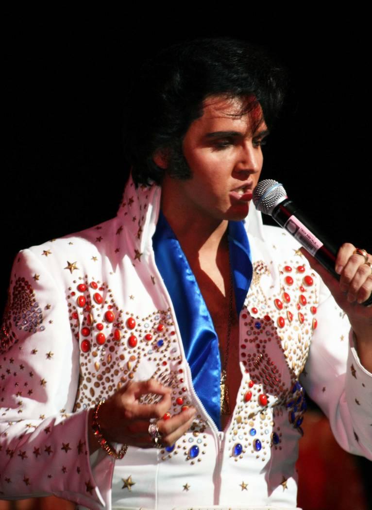Elvis tribute artist Donny Edwards performs Aug. 11-12 at Westgate Las Vegas. (Jeanne Bavaro)
