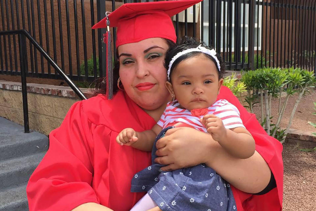 Maria Alvarez is shown with her 3-year-old daughter, Arianna, in this undated family photo provided by her aunt, Sughey Sojo. Alvarez, 33, a teacher at Fremont Middle School, died from tuberculosi ...