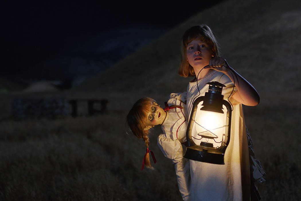 "Lou Lou Safran as Linda in New Line Cinema's supernatural thriller ""Annabelle: Creation,"" a Warner Bros. Pictures release. Courtesy of Warner Bros. Pictures"
