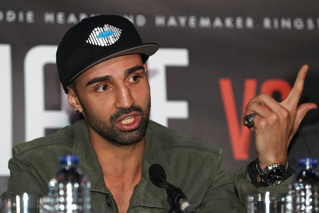 Paulie Malignaggi is shown on March 2, 2017. Simon Cooper/PA Wire