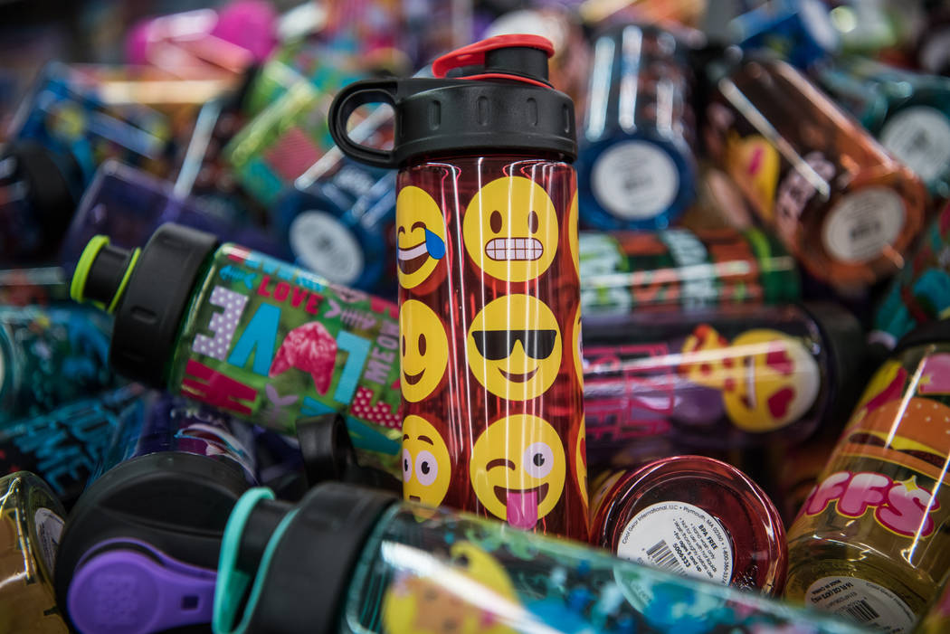 Back to school products at Walmart Super Center on Thursday, Aug. 10, 2017, in Henderson. Morgan Lieberman Las Vegas Review-Journal
