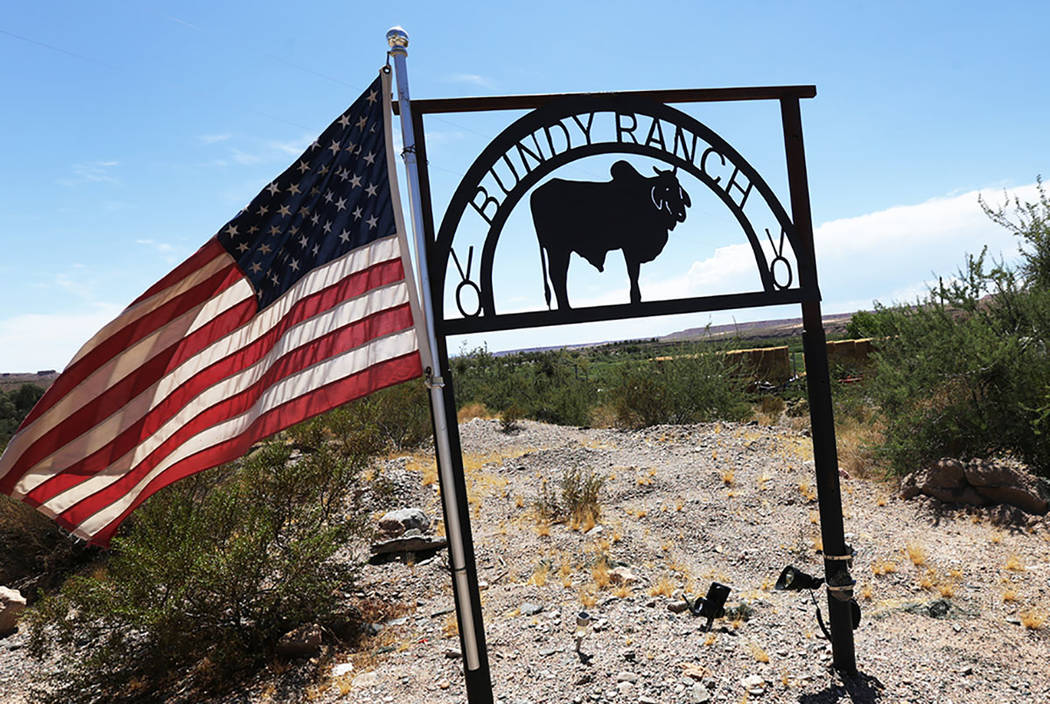 The Bundy Ranch, seen on Sunday, July 30, 2017, near Bunkerville. (Rachel Aston Las Vegas Review-Journal @rookie__rae)