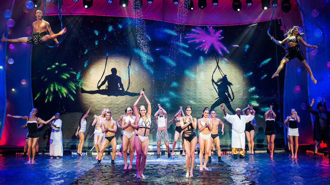 "The aquatic production ""Wow"" opens in September at the Rio. (Caesars Entertainment)"