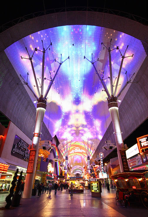 "The Fremont Street Experience's ""Viva Vision"" video show is airing a tribute to Linkin Park and the late Chester Bennington with a six-minute medley beginning at 8 p.m. Aug. 18. (Fremont Street Ex ..."