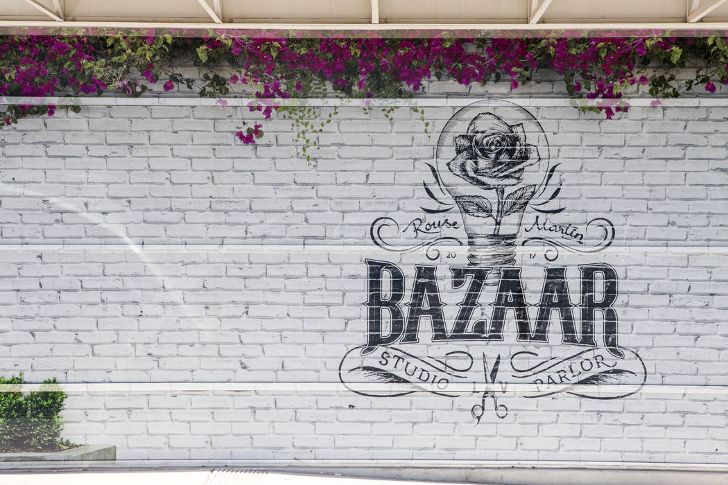 Bazaar Studio and Parlor in Las Vegas on Tuesday, Aug. 15, 2017.  Patrick Connolly Las Vegas Review-Journal @PConnPie