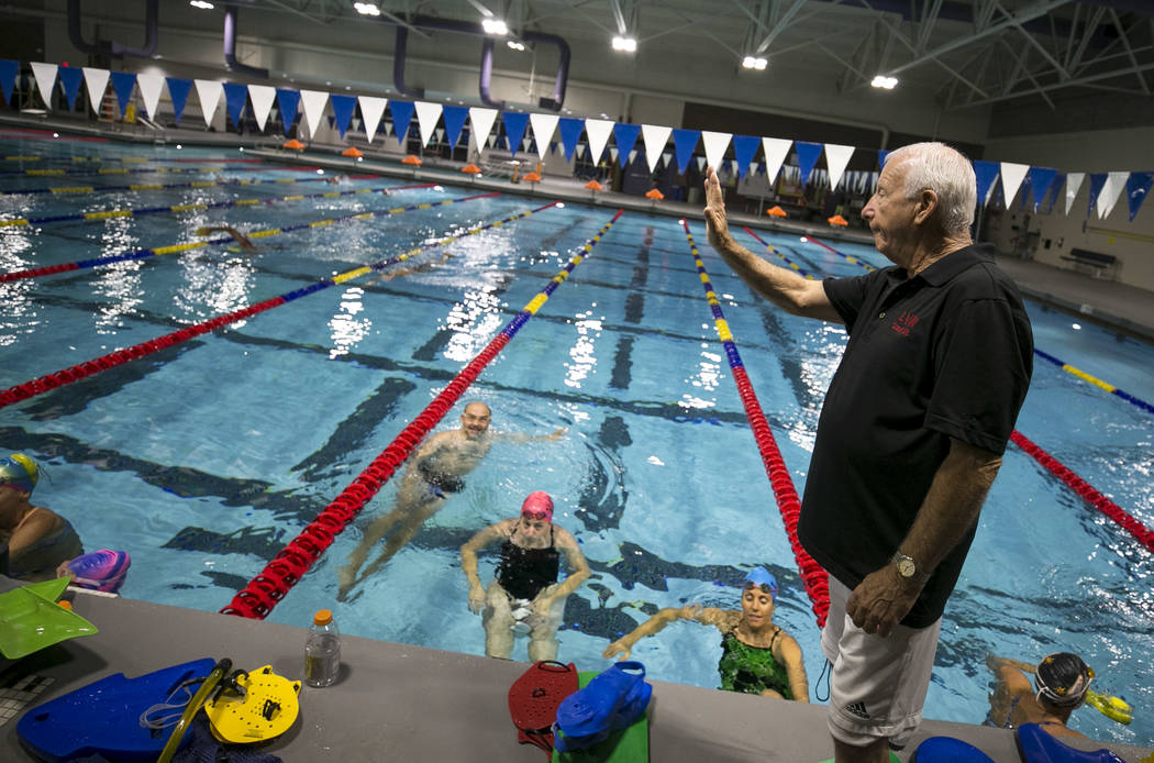 Las Vegas Masters swim team embodies sport's health benefits