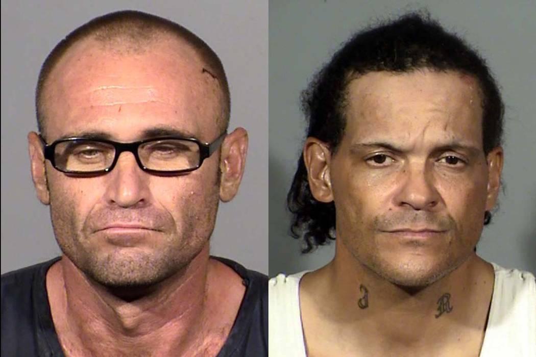 Larry Rinker, left, and Jimmy Roper (Las Vegas Metropolitan Police Department)