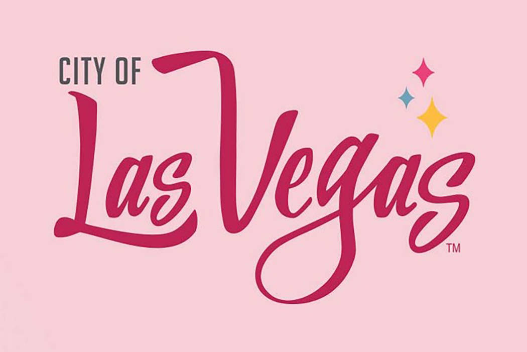 City officials are pivoting from the dark pink emblem they introduced in October back to the official city seal. (Facebook/City of Las Vegas)
