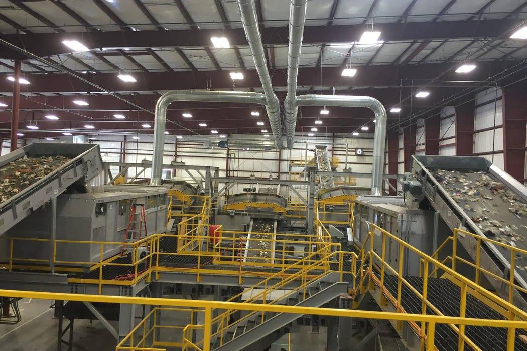 Fulcrum BioEnergy's Feedstock Processing Facility in operation. (Fulcrum BioEnergy,Inc./Facebook)