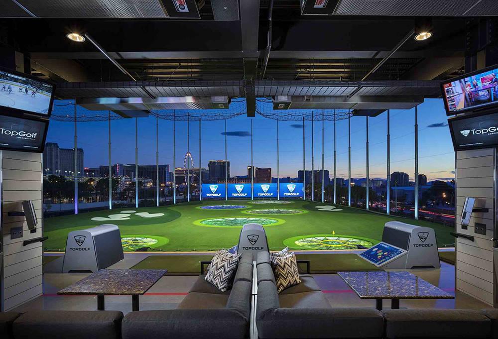 Top Golf at 4627 Koval Lane. (Michael Baxter, Baxter Imaging LLC)