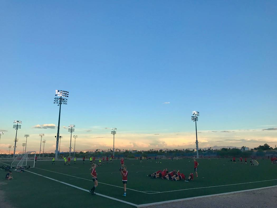 Madrid's teams practice year-round at Kellogg Zaher Sports Complex every Monday, Wednesday and Thursday. On weekends, there are either games here or the team travels to tournaments all over the We ...