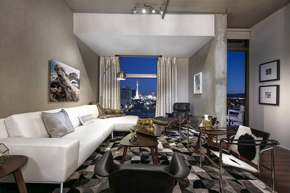 A Juhl high-rise unit in downtown Las Vegas. (Juhl)
