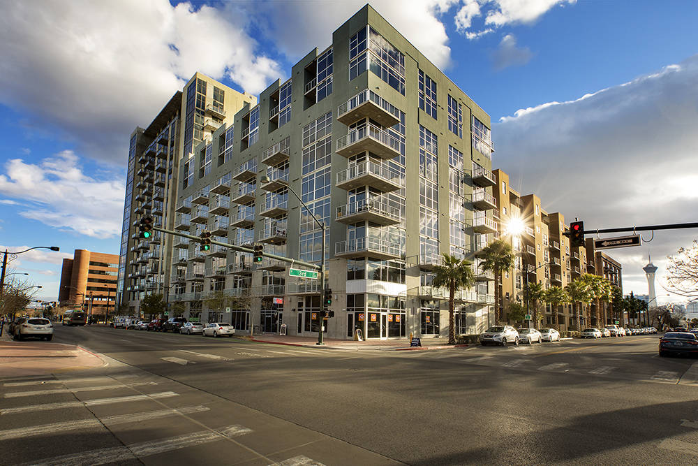 SalesTraq reported 33 sales in The Ogden in downtown Las Vegas for the first six months of this year. (The Ogden)
