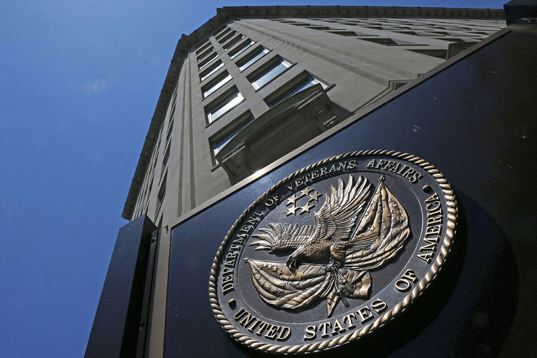 The Veterans Affairs Department in Washington is seen in 2013. (The Associated Press file)
