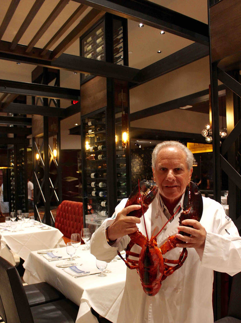 Greg Sherry of Old Homestead Steakhouse in Caesars Palace.  (Courtesy)
