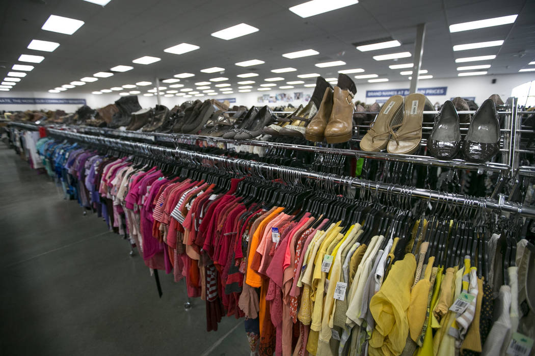 Items for sale at the Goodwill store located at 9230 South Eastern Ave. in Las Vegas on Friday, June 2, 2017. Richard Brian Las Vegas Review-Journal @vegasphotograph