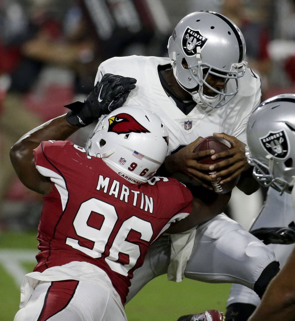 Issues Arise For Raiders In Preseason Loss