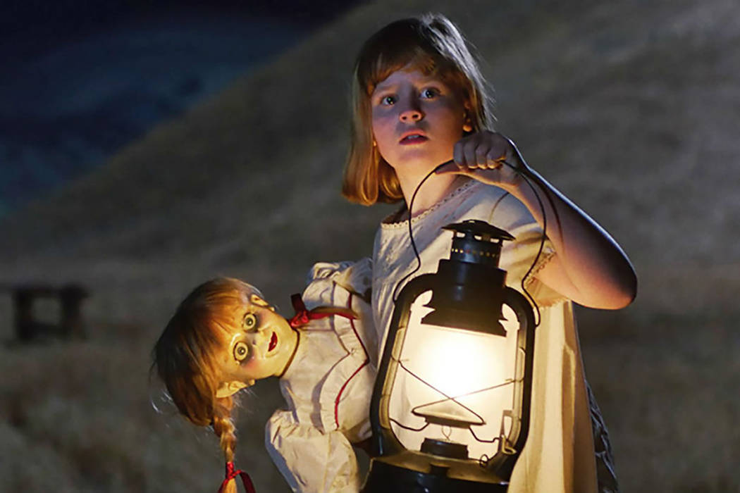"Lou Lou Safran as Linda in New Line Cinema's supernatural thriller ""Annabelle: Creation,"" a Warner Bros. Pictures release. (Warner Bros. Pictures)"