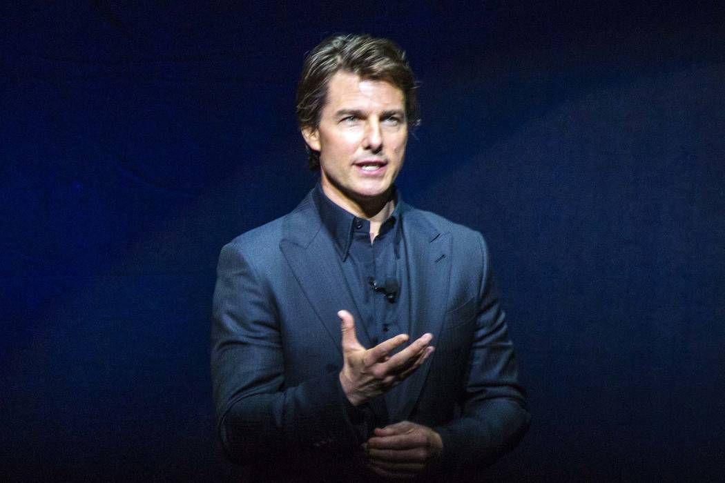 "Tom Cruise was seen limping after performing a stunt on the set of ""Mission: Impossible 6,"" which is shooting in London. (Jeff Scheid/Las Vegas Review-Journal) Follow Jeff Scheid on Twitter @j ..."