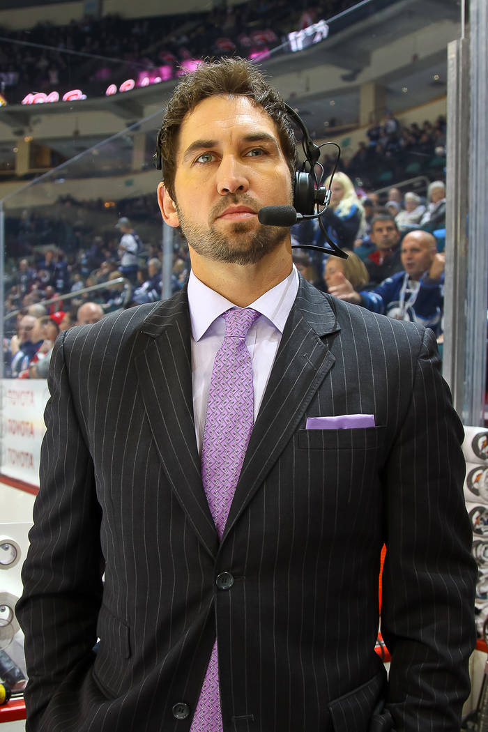 Shane Hnidy, a former defenseman who played 11 years in the NHL and has been working Winnipeg Jets games on both radio and TV since 2012, will serve as the TV analyst for the Knights games on AT&a ...