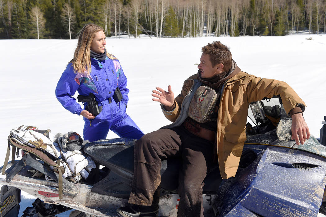 Elizabeth Olsen and Jeremy Renner star in WIND RIVER Fred Hayes © 2017 The Weinstein Company. All Rights Reserved