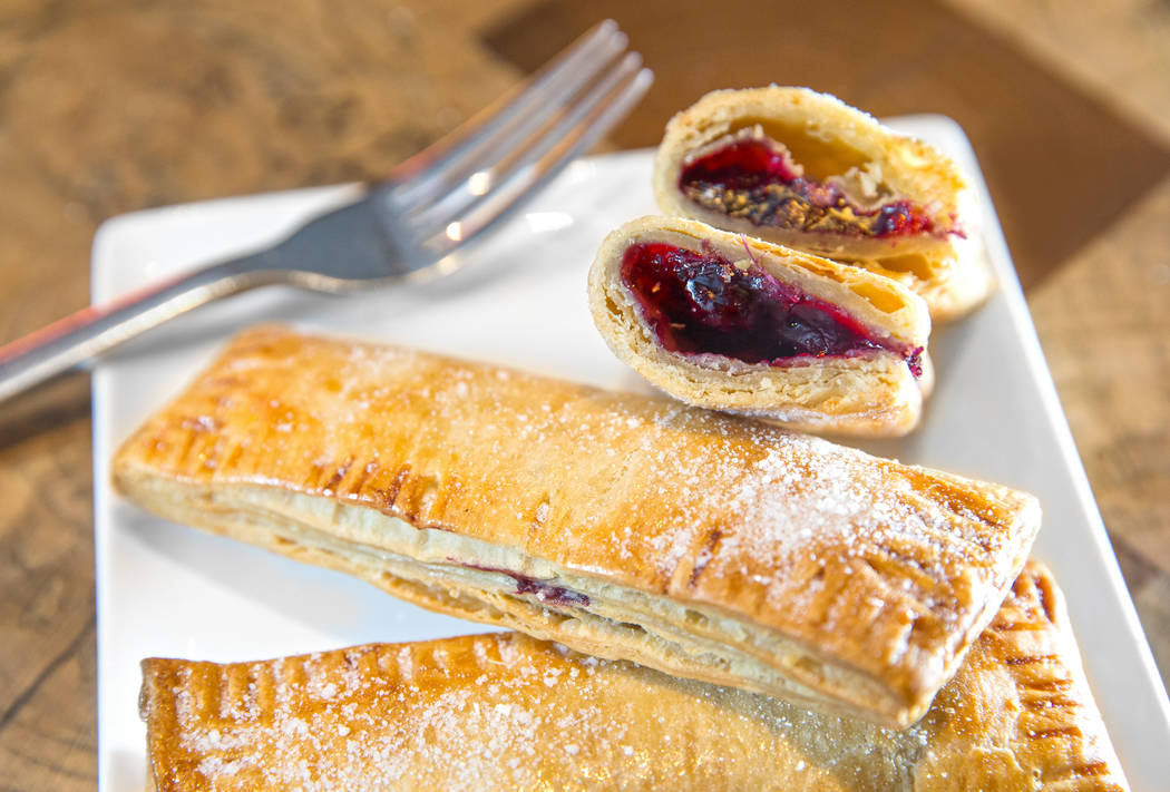 The berry hand pie at Carson Kitchen on Friday, Aug 11, 2017, in Las Vegas. Benjamin Hager Las Vegas Review-Journal @benjaminhphoto