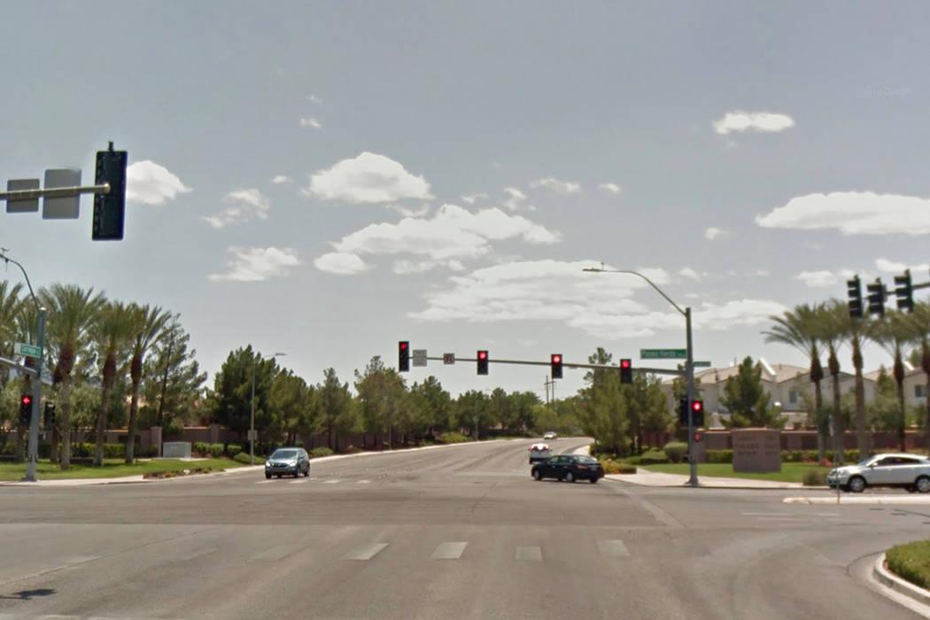 Paseo Verde Parkway and Carnegie Street in Henderson (Google Street View)