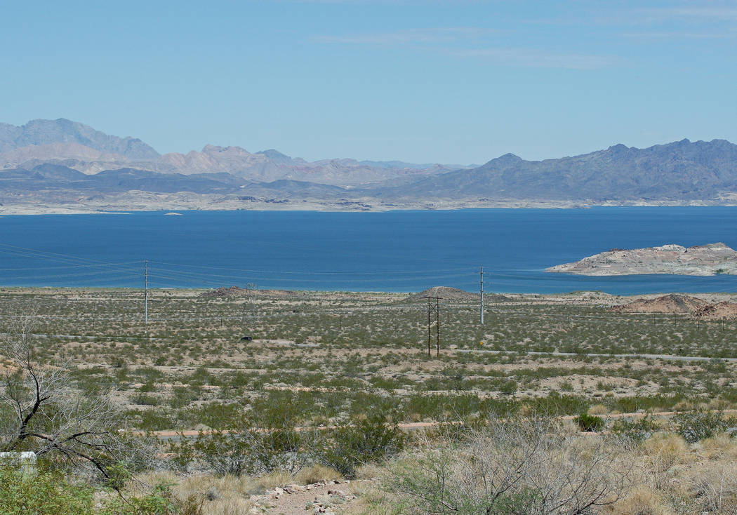 View of Lake Mead from the Lake Mead Visitor Center, Tuesday, Aug. 15, 2017. Gabriella Benavidez Las Vegas Review-Journal @latina_ish