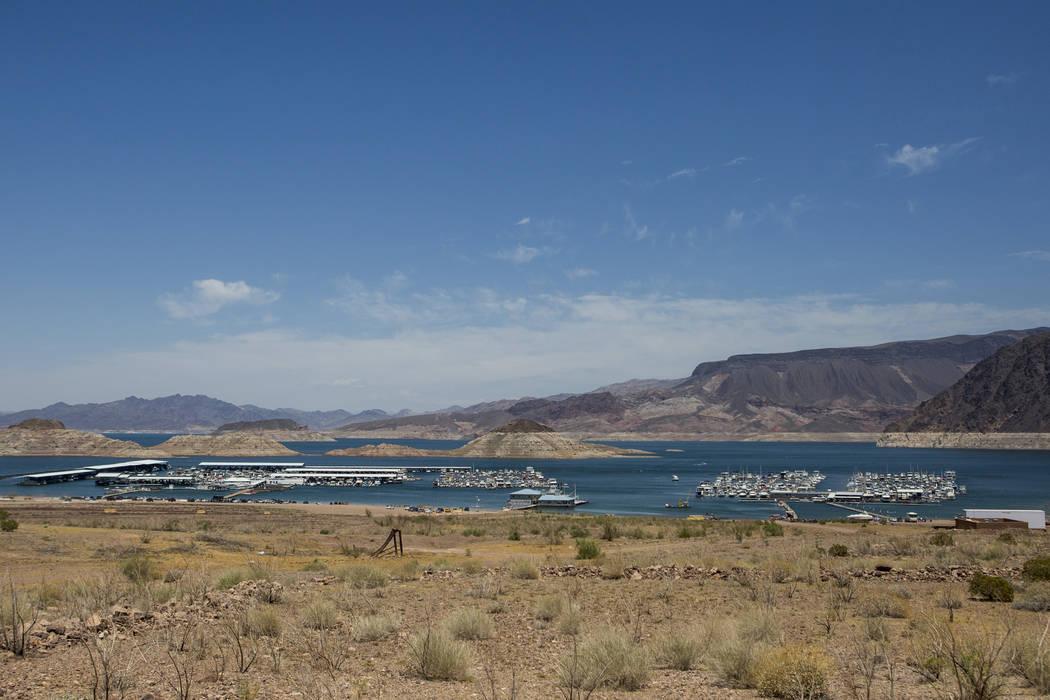 Lake Mead Marina on Thursday, June 1, 2017. (Patrick Connolly/Las Vegas Review-Journal) @PConnPie