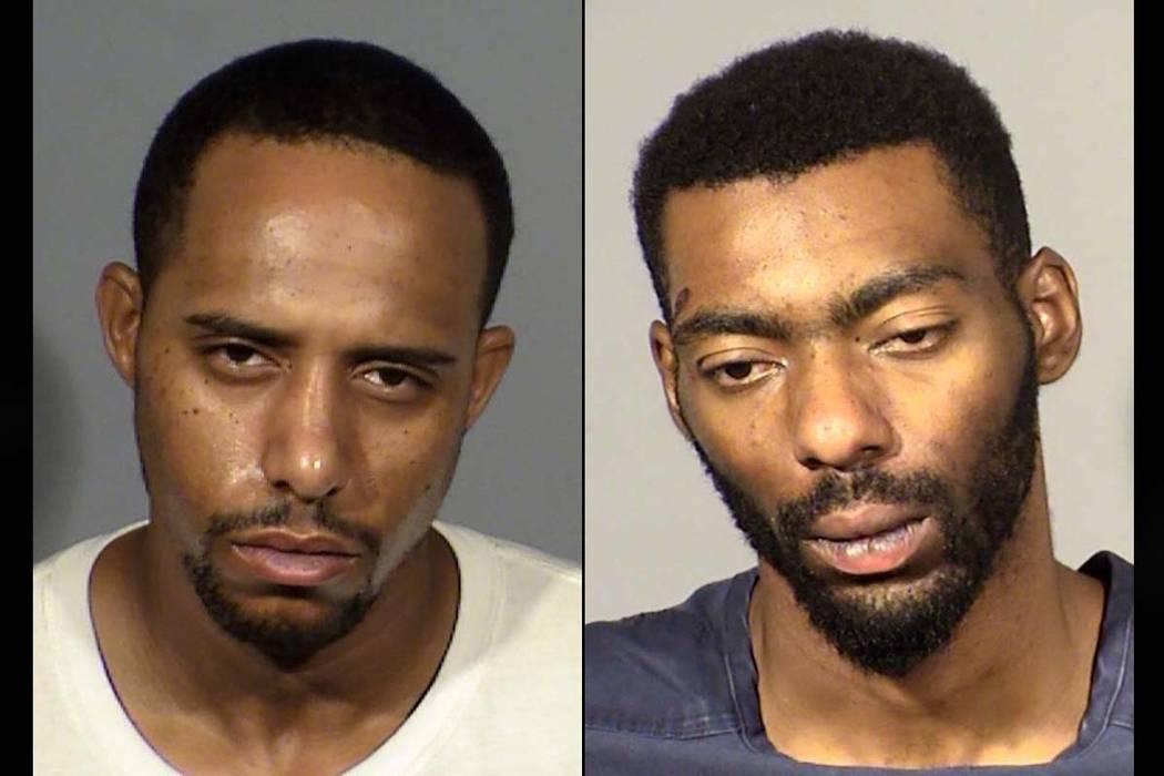 Antonio Diggs, left, and John Jordan (Las Vegas Metropolitan Police Department)