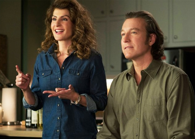 "Nia Vardalos and John Corbett reprise their roles for ""My Big Fat Greek Wedding 2,"" now on Blu-ray and DVD."