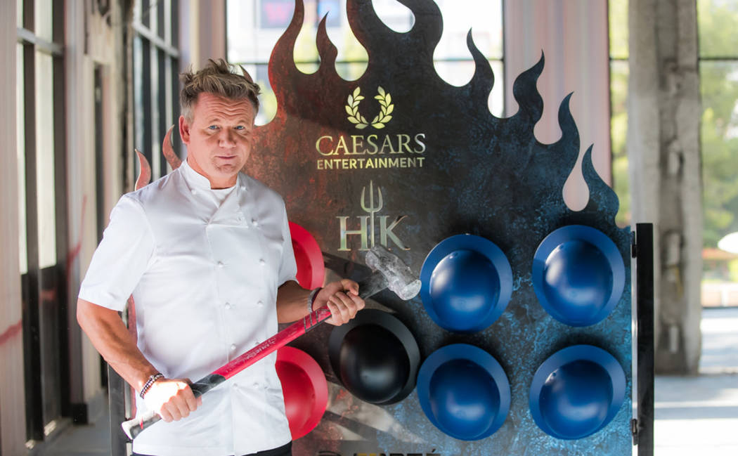 gordon ramsay plans to open hells kitchen restaurant on the strip this winter courtesy - Where Is Hells Kitchen Filmed