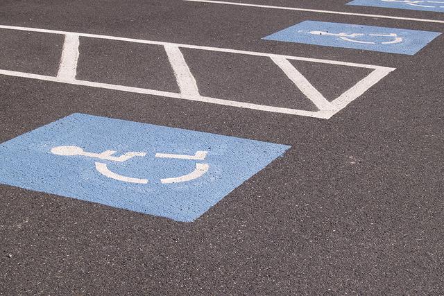 Handicapped parking spot (Thinkstock)