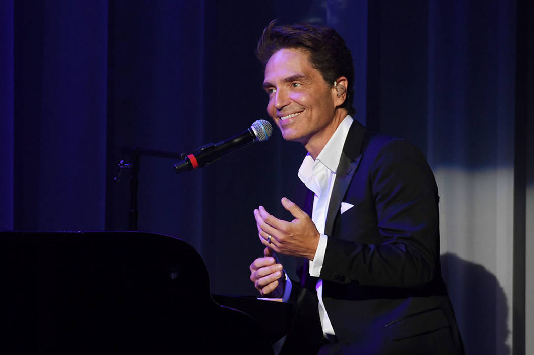 "Richard Marx performs during his debut of ""Satisfied: Only The Hits"" concert residency at Flamingo Las Vegas of his on August 15, 2017 in Las Vegas, Nevada.  (Photo by Denise Truscello/WireImage)"