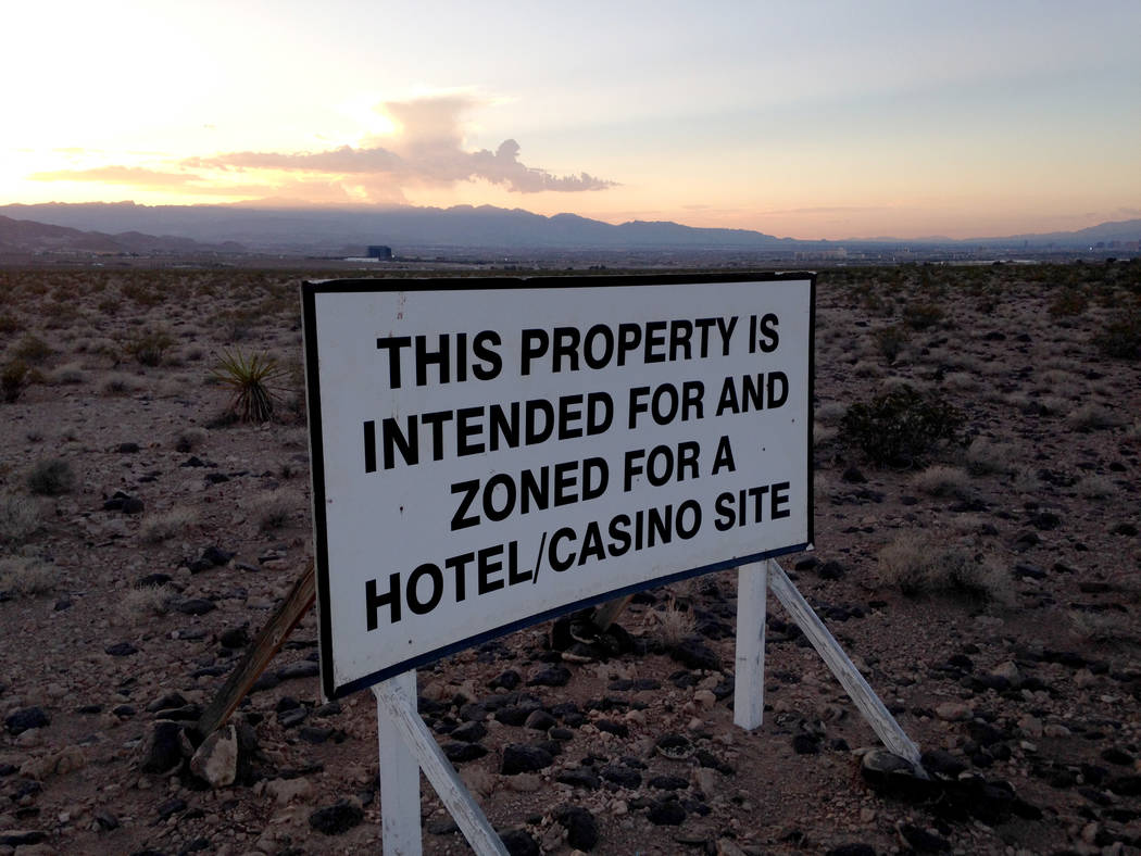 Station Casinos owns 45 acres at Via Inspirada and Bicentennial Parkway in Henderson's Inspirada community, as seen Thursday, Aug. 24, 2017. Eli Segall Las Vegas Review-Journal
