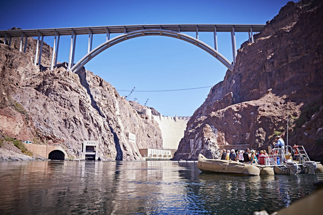 By Thursday afternoon, 33 people had booked trips with Black Canyon River Adventures to watch the solar eclipse Monday on the Colorado River. The valley should see a 75 percent obscured partial ec ...