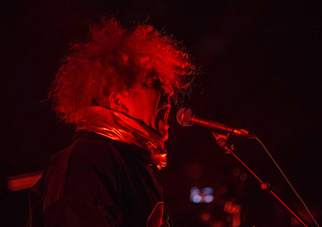 Melvins frontman Buzz Osborne performs at The Joint during Psycho Las Vegas on Friday, Aug 18, 2017, at the Hard Rock hotel-casino, in Las Vegas. Benjamin Hager Las Vegas Review-Journal @benjaminh ...