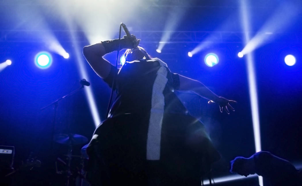 Cult of Luna with Julie Christmas performs at The Joint during Psycho Las Vegas on Sunday, Aug 20, 2017, at the Hard Rock hotel-casino, in Las Vegas. Benjamin Hager Las Vegas Review-Journal @benja ...