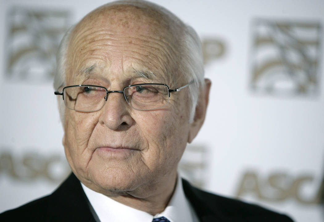 Producer Norman Lear in Beverly Hills, California, May 6, 2008. (Matt Sayles/File, AP)