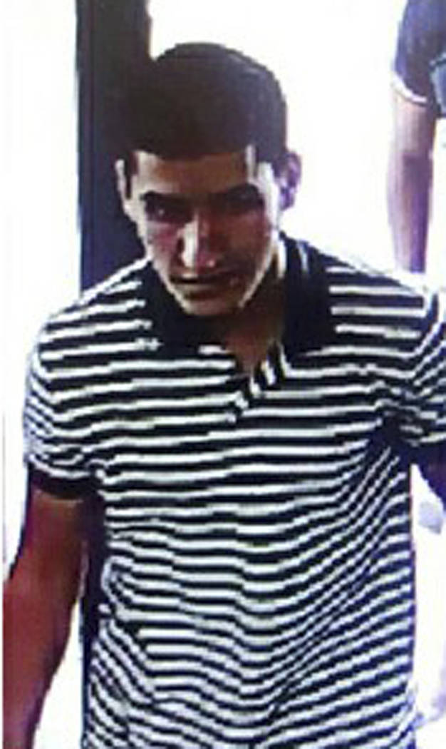 An image of suspect Younes Abouyaaqoub, released by the Spanish Interior Ministry on Monday Aug. 21, 2017. Moroccan suspect Younes Abouyaaqoub, 22, is the final target of a manhunt that has been o ...