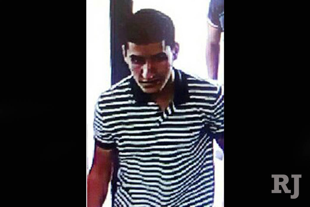 Suspect Younes Abouyaaqoub (Spanish Interior Ministry via AP)