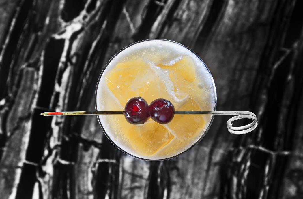 Makers Bourbon Smash at Alto Bar on Tuesday, Aug 15, 2017, at Caesars Palace hotel-casino, in Las Vegas. Benjamin Hager Las Vegas Review-Journal @benjaminhphoto
