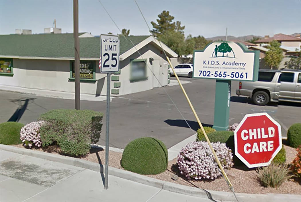 K.I.D.S. Academy, 300 E. Horizon Dr. in Henderson, Nevada (Google Street View)