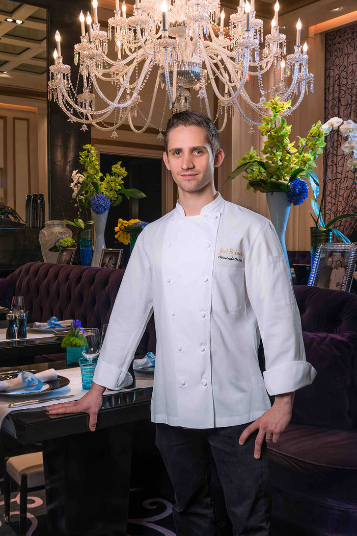 Christophe De Lellis is executive chef at L'Atelier de Joël Robuchon in the MGM Grand. (Courtesy)