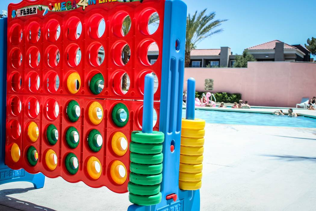 Hooters Hotel has just completed a $20 million renovation, an updated pool deck with games and events. (Courtesy)