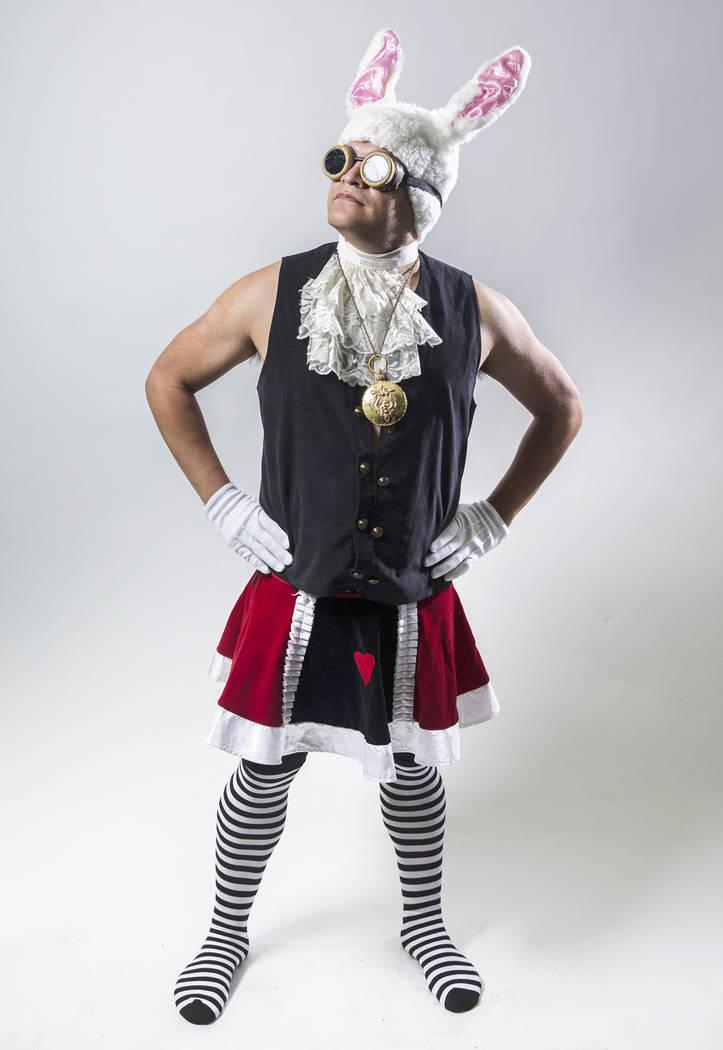 Burner Mario Gomez on Monday, Aug 21, 2017, at the Review-Journal studios, in Las Vegas. Benjamin Hager Las Vegas Review-Journal @benjaminhphoto