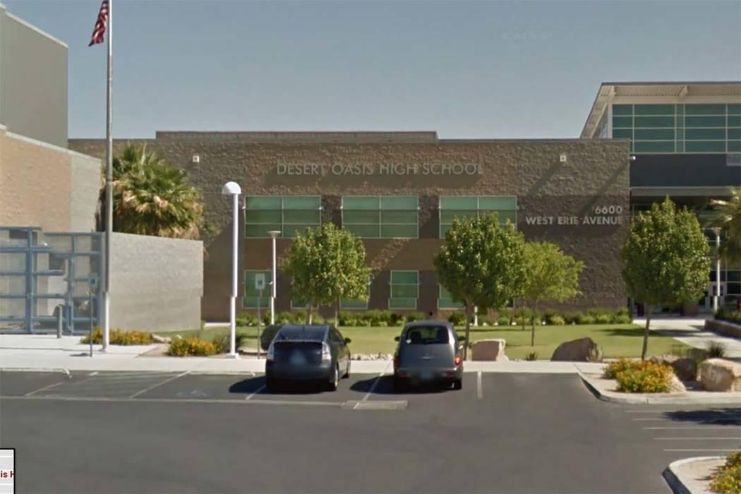 Desert Oasis High School (Google Street View)