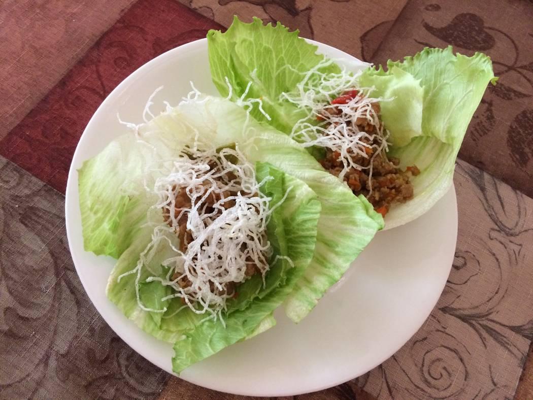 Chicken Lettuce wraps from Cutting Board Filipino Gastropub. (Jan Hogan/View)