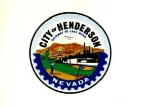 "The Henderson City Council adopted this logo in September 1969. The color image described Henderson as the ""gateway to Lake Mead"" and had a golfer in the forefront. (Courtesy)"